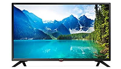 Sharp LC-32HI5332KF 32-inch HD Ready LED Smart TV with Freeview Play, 3 x HDMI, Mini SCART, USB Record, Remote Control - Wall Mountable,Black