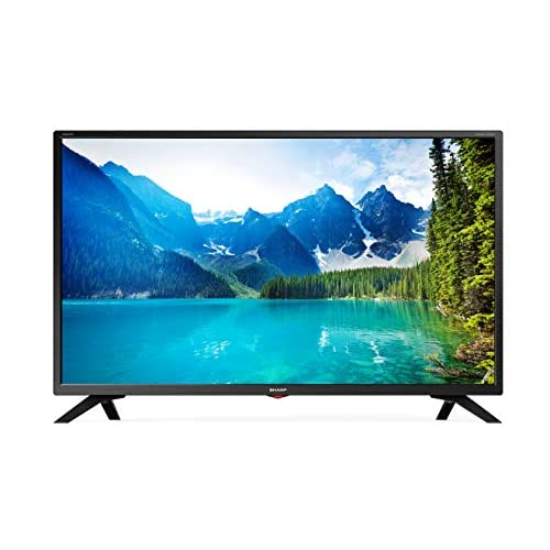 417EugBcyqL. SS500  - Sharp LC-32HI5332KF 32-Inch HD Ready LED Smart TV with Freeview Play - Black