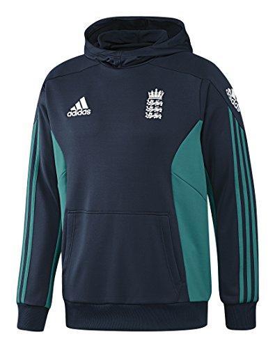 adidas Herren Hoodie ECB England Cricket Replica Training, Conavy, 9, AH4604 (Adidas Training England)