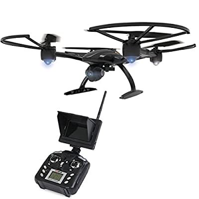 JXD 509G 5.8G FPV RC Drone With 2.0MP HD Camera High Hold Mode RC Quadcopter Night Flight & One key Return & Headless Mode from Jimu Technology