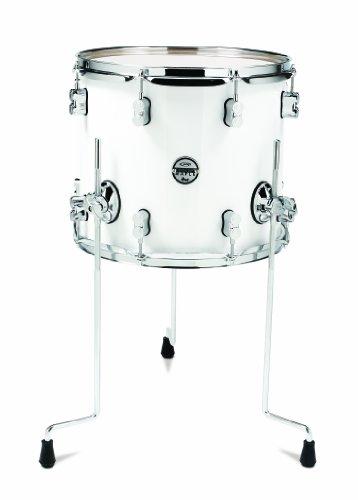 Pacific Drums pdcm1214ttpw 30,5x 35,6cm Floor Tom, mit Chrom Hardware, Perlglanz-Weiß