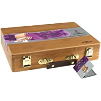 Winsor & Newton - Set per pittura a olio, in scatola di bambù