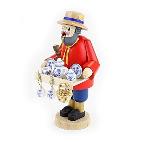 Glässer 26222 Crockery Merchant incense burner traditional wooden handmade German