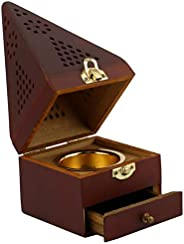 Censer Wooden Conical, Brown