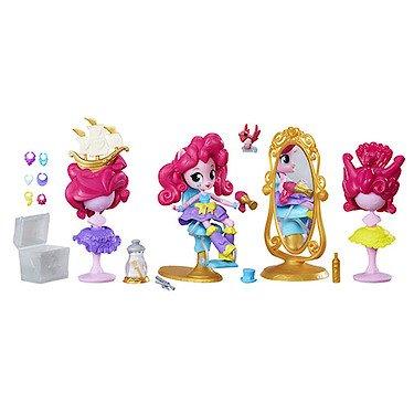 My Little Pony - Equestria Girls Minis - Pinkie Pie Salon de Haute Coiffure - Mini Poupée + Accessoires