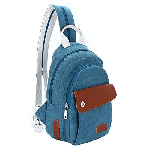 borsa di tela/pacchetto tempo libero/pacco petto Ms./borsa diagonale/zaino-E A