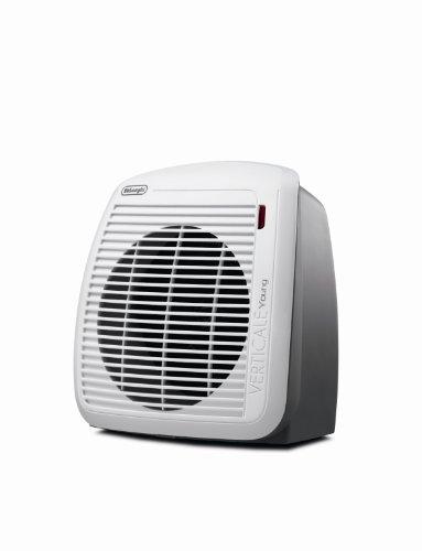 DeLonghi HVY1030 Schnellheizer (Für Räume bis max. 60 m³) weiß/grau