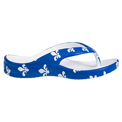Dawgs Kids Flip Flops Fleur De Lis