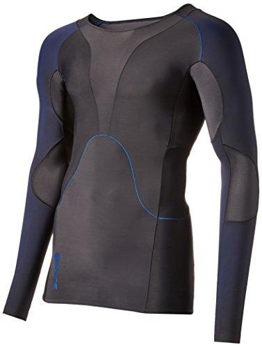 Skins long arm rY400 top à manches longues pour homme, Multicolore - Graphite/Blue, M