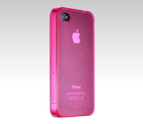 ICU Shield Schutzhülle für iPhone 4 transparent Sparkling pink Sparkling Shield