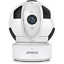 ANNKE IP Camera Nova Orion 1080P HD Pan/Tilt WiFi Wireless Security Camera, Work with Alexa, Google Assistant and IFTTT, Cloud Service Available, 2.4G Wi-Fi Home Security Camera
