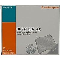 DuraFiber antimikrobielle Ag Silber Kompresse, 10 x 4 cm preisvergleich bei billige-tabletten.eu