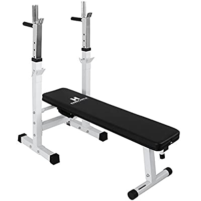 Hardcastle White Multi Function Weight Bench& Dip Station from Hardcastle Bodybuilding