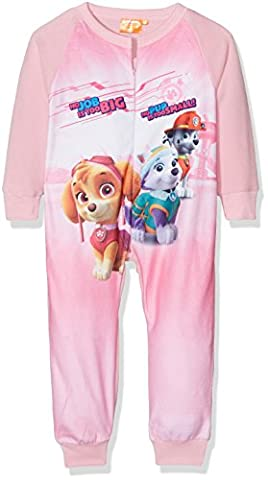 Nickelodeon Girl's Paw Patrol jumpsuit, Pink, 4