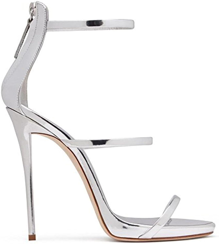 Sandalias de Mujer Zapatos de Mujer Código de Grandes Europeos y Americanos Sandalias de Tacón Sexy arranca en... -