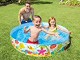 #7: Snap Set Baby Pool Bath Water Tub for Kids - 5ft x 10 inch (1.52m x 25cm)