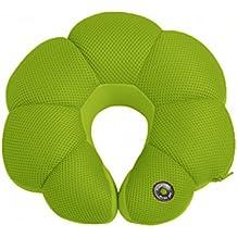 [eléctrico]UForma cuello masaje almohada/u almohada/ Almohada siesta/[almohada]/Almohada cervical-verde