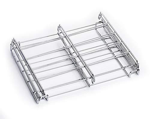 UPP Ofen-Regal Backofengitter Abkühlgitter Edelstahl stapelbar rechteckig -