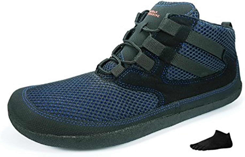 Sole Runner Flash 2   SET   Unisex Barfußschuh im SET mit einem Paar Zehensocken und Winter Einlegesohlen