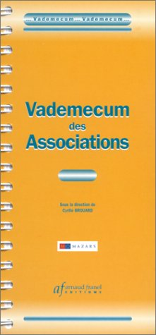 Vademecum des associations par Collectif, Cyrille Brouard