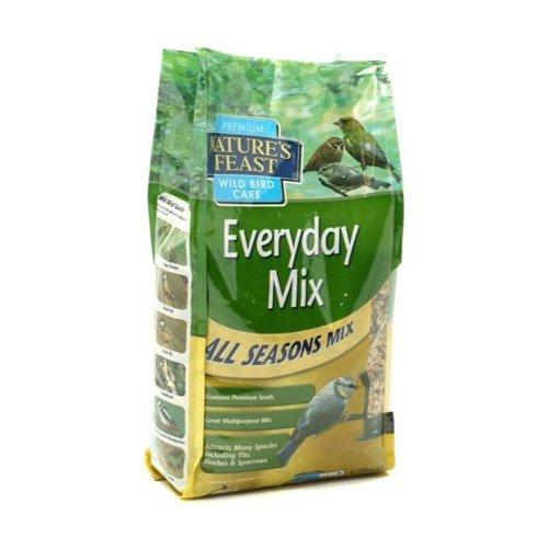 NeatureFeast au Quotidien de graines de 4 1.75 kg Mélange de Nourriture pour Oiseaux