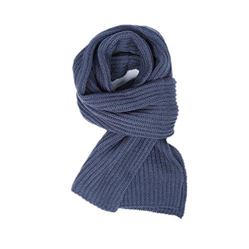 Preisvergleich Produktbild VBAI Plüsch-Schal-warme Schal-Paar-Schal-Männer und Frauen General (Saphir)