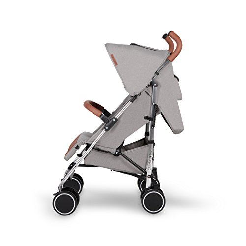 Ickle Bubba Baby Strollers   Lightweight Stroller Pushchair   Compact Fold Technology for Easy Transport and Storage   UPF 50+ Extendable Hood, Footmuff and Rain Cover   Discovery, Grey/Silver  Ickle Bubba