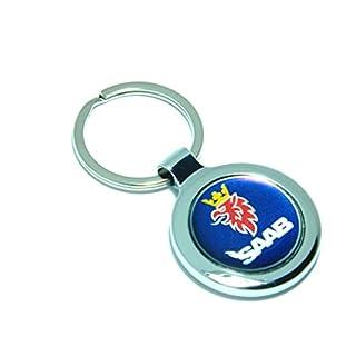 auto-badges SAAB METAL KEY RING GIFT PRESENT KEYRING