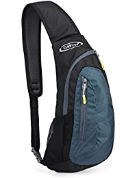 G4Free Lightweight Small Chest Sling Shoulder Backpacks Bags Cute Crossbody Triangle Pack Rucksack Multipurpose Daypacks for Adults or Children
