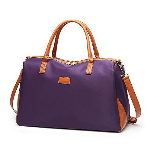 Grtodnz Große Kapazität Frauen Casual Umhängetaschen Cross Body Handtaschen, geeignet für das Wochenende und Geschäftsreisen, Kurze Reisen, kann eine Menge Notwendigkeiten,Purple