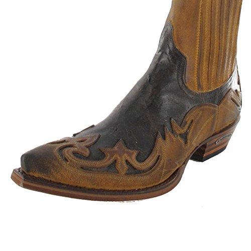 Sendra Boots  4660, Bottes et bottines cowboy homme Camel