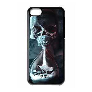 Until Dawn Skull Clock 105230 iPhone 5C Cell Phone Case coque Black Cell Phone Case coque Cover EEECBCAAN74728