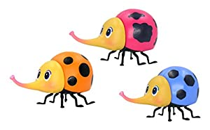 Monchhichi- Pack 3 Monchhibugs, Multicolor, 3,5 cm (Toy Partner 81501)