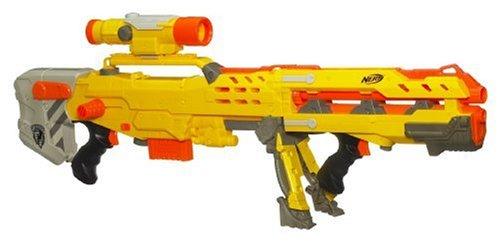 N Longshot Strike Nerf (Hasbro - Nerf N-Strike 2in1 Longshot CS-6 inkl. Darts)
