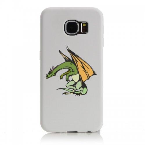 Smartphone Case Alter Drago con Ali beugt si per Apple Iphone 4/4S, 5/5S, 5C, 6/6S, 7& Samsung Galaxy S4, S5, S6, S6Edge, S7, S7Edge Huawei HTC-Divertimento Motiv di culto Idea R