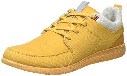 Boxfresh Aggra Bch Rip - Scarpe da Ginnastica Basse uomo, colore Giallo (Yellow (Hny/Eth Red)), taglia 40.5