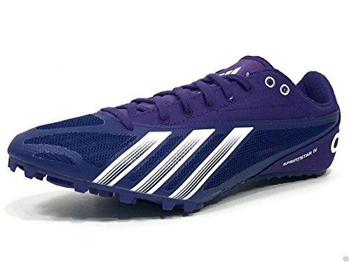 Adidas SprintStar 4 Mens Track Spikes Blue/White 7