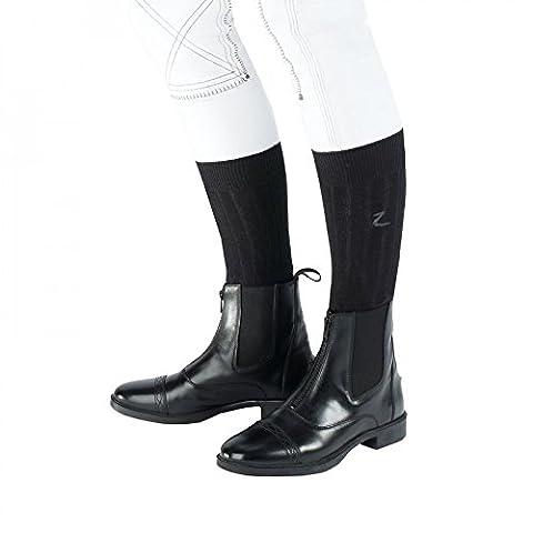 Horze Front-Zip Jodhpur Boots