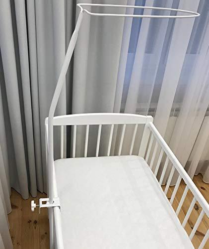 Himmelstange Schleierhalter für Babybett oder Wiege