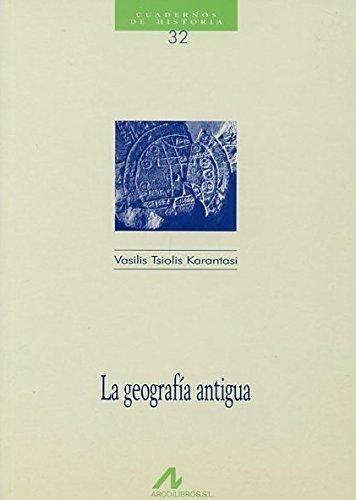 La geografía antigua (Cuadernos de historia)