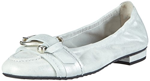 Kennel und Schmenger SchuhmanufakturMalu - Ballerine Donna , argento (Silber (bianco-silver/silver 477)), 40 EU
