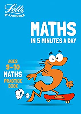 Letts maths in 5 minutes – Letts maths in 5 minutes age 9-10 by Letts