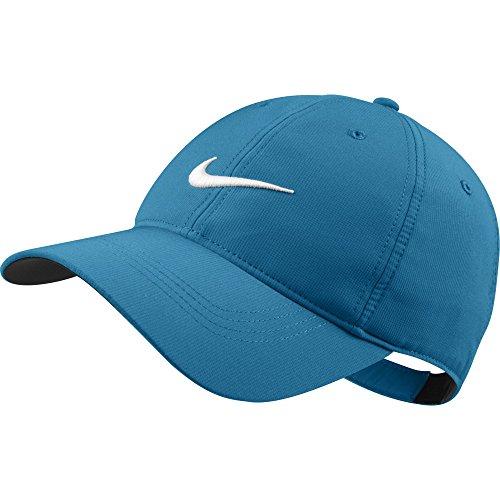 Nike Basketball Gestickt (Nike Swoosh Cap Herren Tech, Tech Swoosh, blau (Laque Bleue), Einheitsgröße)