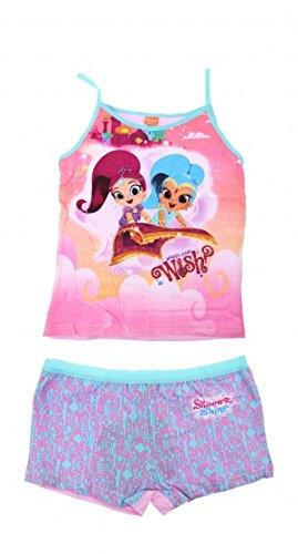 Preisvergleich Produktbild Nickelodeon Boxer und Shirt Shimmer and Shine Mädchen mt 116-122 - 116,122