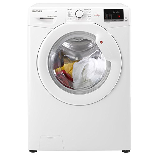 Hoover HL41472D3W - 1400rpm Washing Machine 7kg Load Class A+++ White