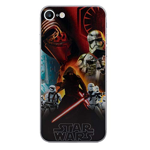 I-CHOOSE LIMITED Star Wars Case Handyhülle für Apple iPhone 4/4s mit Schirmschutz/Gel/TPU/First Order (Iphone 4 Fall Homer)