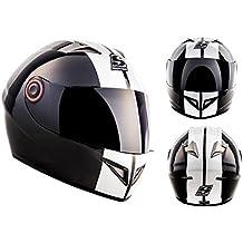 SOXON ST-666 Deluxe Snow · Urbano Sport Moto motocicleta Fullface-Helmet Scooter Casco