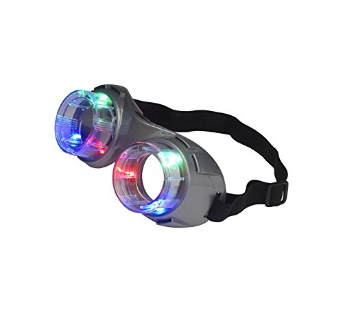 99 Alien Goggles, Light Up, Einheitsgröße ()