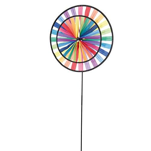 HQ Magic Wheel Duett Rainbow Girouette, Multicolore, 44 x 12 x 96 cm