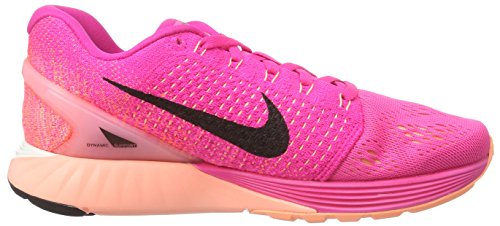 NikeLunarglide 7 - Scarpe Running Donna Rosa (Pink (Pink Foil/Black/Pink Pow))